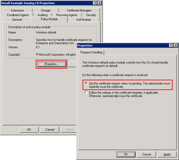Info: Automatically Adding the CN as a SAN using an MS CA – Venafi ...