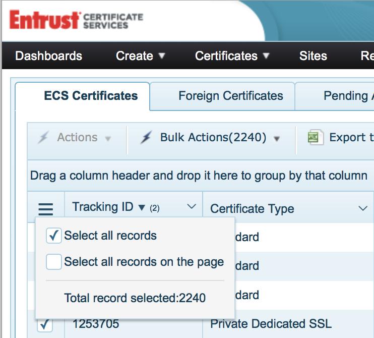 How To Bulk Exportimport Certificates From Entrust Venafi