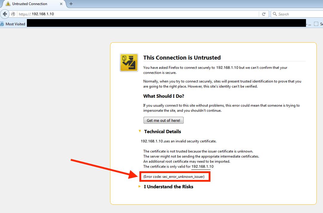 Certificate Cn Referencing Hostnames Or Private Ip Addresses