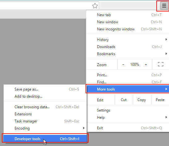 Capturing a  HAR file in Google Chrome – Venafi Customer Support