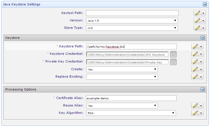 How To: Configure provisioning using the JKS Application driver